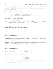 Fund Quantum Mechanics Lect & HW Solutions 62