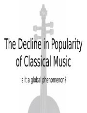The Decline in popularity of Classical Music.pptx