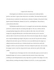 Compare and Contrast Urban Legends Essay.docx