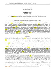 H L A HARTS LOST ESSAY DISCRETION AND THE LEGAL PROCESS SCHOOL.rtf