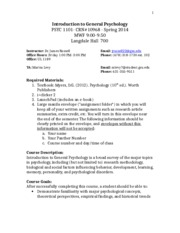 Syllabus Spring 2014 Section A