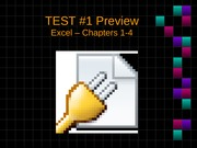 CIS Excel Test#1 Review