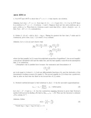 Homework 10 Solution Fall 2013 on Real Analysis
