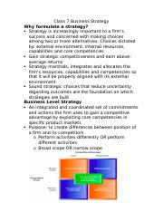 Class 7 Business Strategy.docx