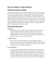 Industry Anaylsis HW#2 (Business Writing)