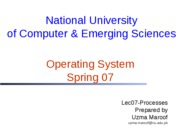 Lec08-Process Creation