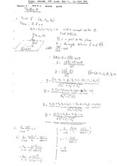 Solutions to Class Test 4