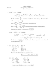 Exam 3, Fall '04, Solutions