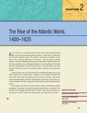 02 - The Rise of the Atlantic World, 1400-1625