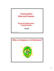 Lecture 9-Financial Statements Fundamentals (1)