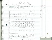 CHM 142 Introduction Notes
