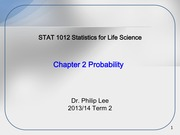 STAT1012 Ch2 Probability