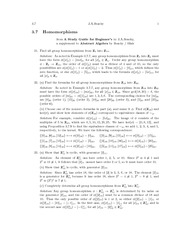 Homomorphisms Practice Problems