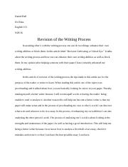 Daniel Bell Revision in Writing.docx