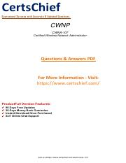 CWNA-107 Dumps Which Everyone In The Industry Should Be Using.pdf