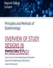 MSc MPH_Principles of Epi_OverviewStudyDesigns_AJC_2014_BB.ppt