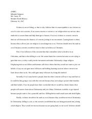 Inquistion Essay