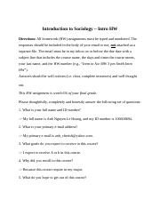 Introduction to Sociology -hw.docx