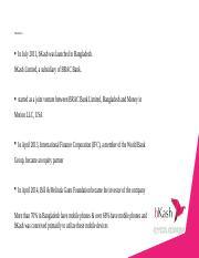 Bkash-study-research docx - Case STUDy O A case-study style
