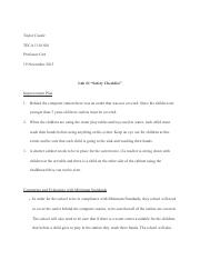 Lab 1 Part 2 Safety checklist.pdf