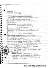 Dissociative Disorders Notes