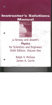 Physics 6th Edition Solutions Serway1-46