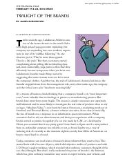 Twilight of the Brands - The New Yorker.pdf