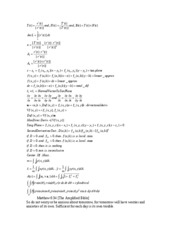 equations for math 233