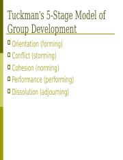Group Processes and Conflict.ppt