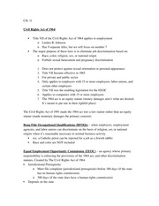 Chapter 11 Review Sheet