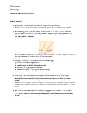 Analysis questions Chapter 5