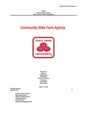 Community State Farm Agency Team C GM 600 1.10a