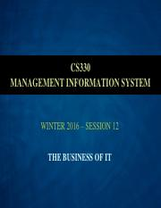 Business of IT - For Class 12