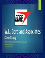 w l gore inc swot analysis Wl gore associates case study - free download as word doc case study analysis- wlgore & associates, inc submitted to: dr richa awasthy imi, new delhi 1|page.