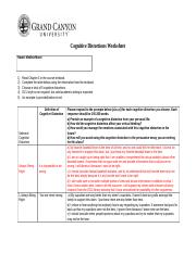 PHI105.T3_CognitiveDistrotionsWorksheet (1) - Cognitive Distortions ...