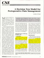 A Decision Tree Model for Postoperative Pain Management with highlights.pdf