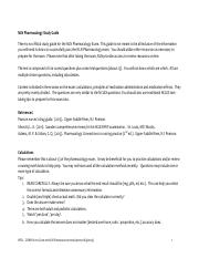 NLN Pharmacology Study Guide final 6-3-2013
