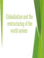Globalization and the development of modern world system-5