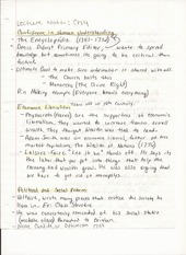 Humanities Lecture Notes Chapter 4 Confidence in Human Understanding