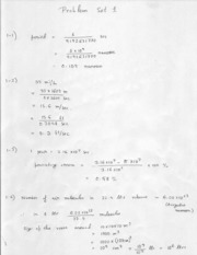 PHY 317K HOMEWORK SOLUTION 1~3  & SOLUTIONS