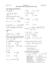 Exam3_2006Spr_EquationSheet