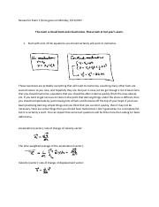 PHYS 160 : calculus-based physics - UNM - Course Hero