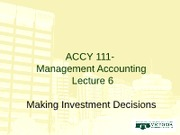 Week 9 ACCY 111 RJD Lecture 6