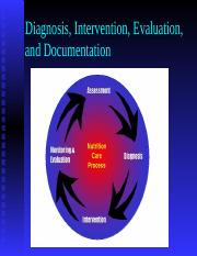 Diagnosis, Intervention, Evaluation NCP