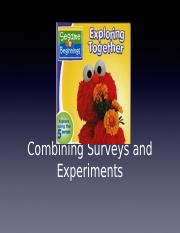 Lecture 25 - Combining Surveys and Experiments.pptx