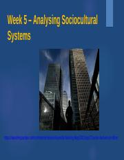 Week 5 – Analyzing Sociocultural Systems 2016 (6)
