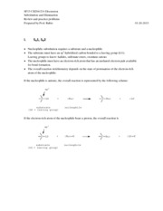Substitution and Elimination review