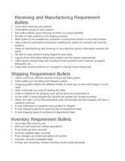 System Requirements one pager[1].doc