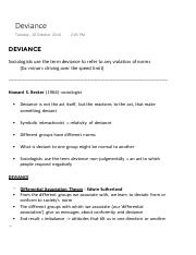 Deviance (Sociology and Anthropology).pdf