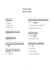 MATH_2623_Formula_Sheets Financial Math.pdf